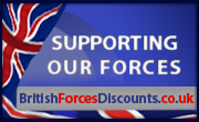 Forces discount banner